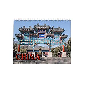 China Calendar: Beijing, Xian, Huashan Mountain, Chinese Wall Calendar.