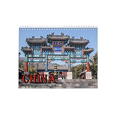 China Calendar: Beijing, Xian, Huashan Mountain, Chinese Wall Calendar.