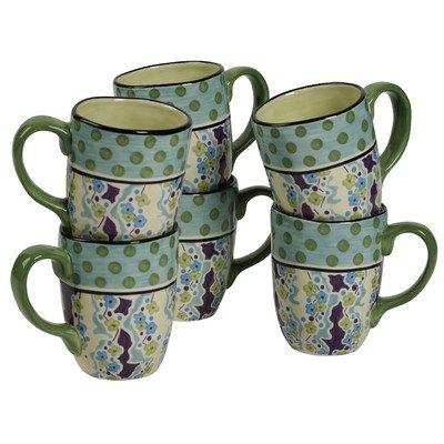 Happiness 16 Ounce Mug (Set of 6) -