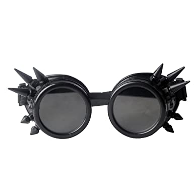 dc6b82a443f8 Steam Punk Glasses Victorian Clothing Nails Halloween Costume Dance Dance  Cosplay Dance Gogges