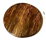 Spalted Ambrosia Maple Wood Lazy Susan, 14'' or 16'' in diameter