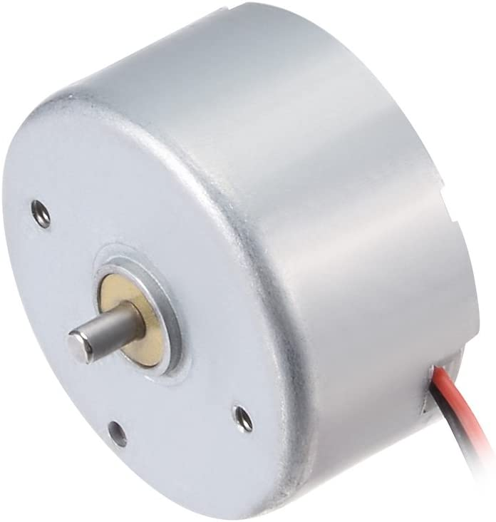 uxcell Micro Motor DC 6V 6700RPM 2 Wire High Speed Motor for DIY Hobby Toy Cars Remote Control