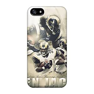Iphone 5/5s AQH15405RxGO Allow Personal Design Nice St. Louis Rams Image Best Hard Phone Cover -LauraAdamicska