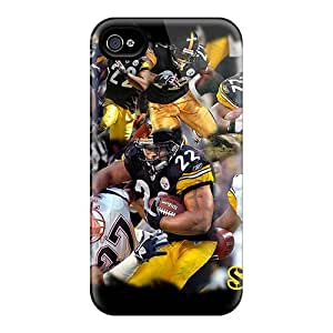 JoH20831lcXc Anti-scratch Cases Covers Luoxunmobile333 Protective Pittsburgh Steelers Cases For Iphone 4/4s