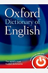 Oxford Dictionary of English Hardcover