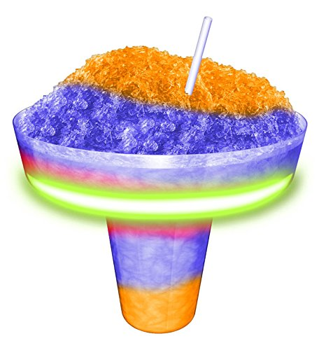 8 oz (237 ml) Glow Cone Tray Cup with Snap in Groove - 900 per case ()