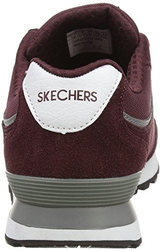 Skechers Retros OG 82 Classic Kicks - Zapatillas Mujer Rojo (Burgundy)