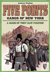 Mayfair Games Five Points Gangs of New York
