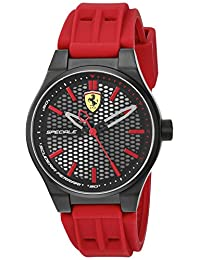 Ferrari Men's 840010 Analog Display Quartz Red Watch
