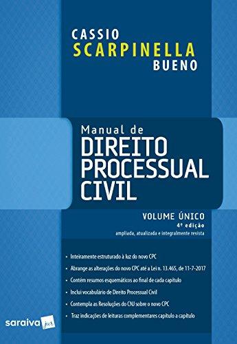 Manual de Direito Processual Civil - Volume Único