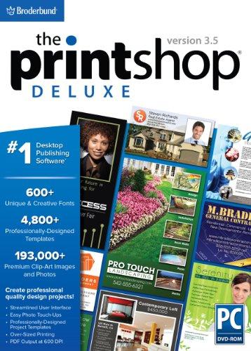 The Print Shop Deluxe 3.5 - Shop Shape