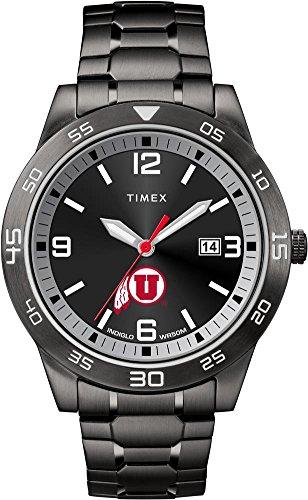 (Timex University of Utah Utes Men's Black Acclaim Watch)