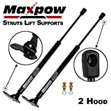 Maxpow 2pcs Hood Gas Charged Lift Support Compatible With 2003 2004 2005 2006 2007 Honda Accord PM2024 4157