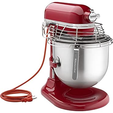 KitchenAid KSMC895ER 8-Quart NFS Certified Commercial Stand Mixer with Bowl Guard (Empire Red)