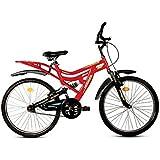 Hercules MTB Turbodrive Dynamite R20 26T Mountain Bike (Red)