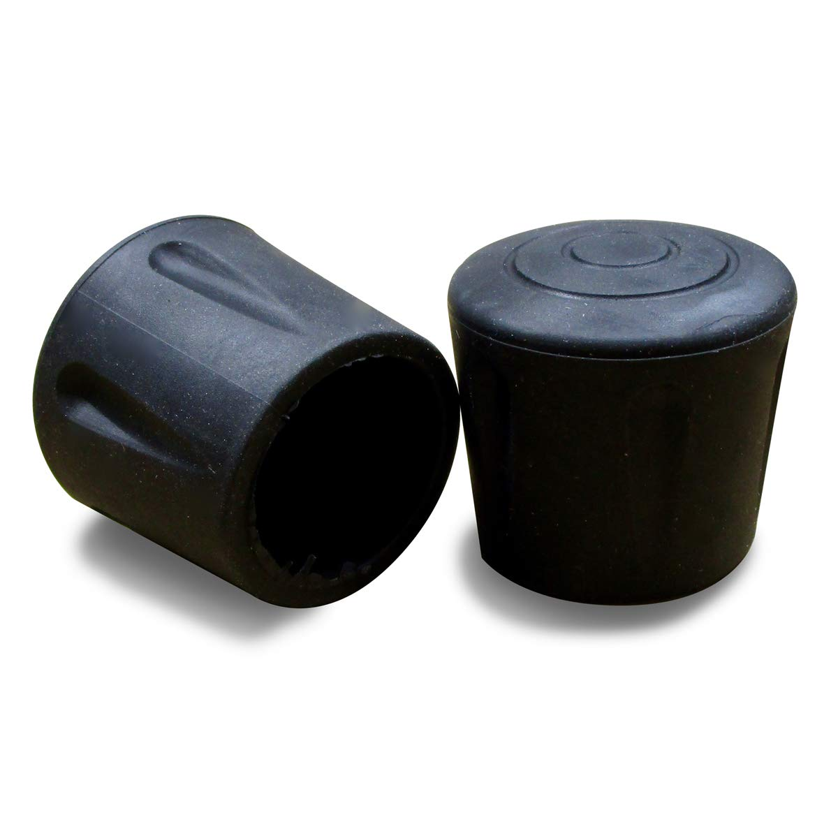 ajile Embout en Caoutchouc Renforcé Vulcanisé NOIR pour Pied de Chaise et Table Diamètre 16 mm – Sachet de 16 Pièces – EVS116x16-FBA