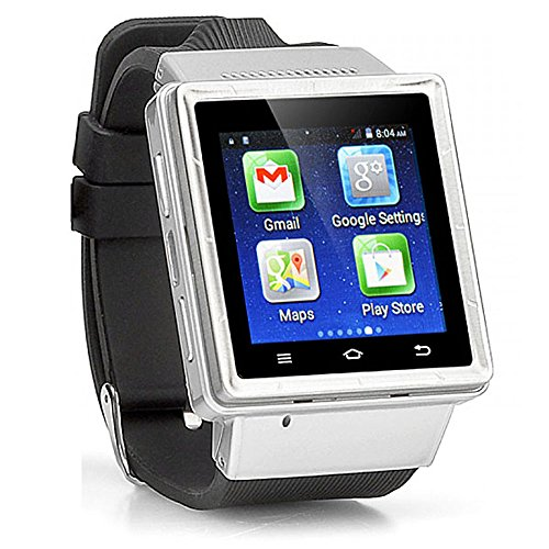 Indigi UNLOCKED Android 4.4 Smart Watch Cell Phone GSM 3GWiFi GPS Google Play Store
