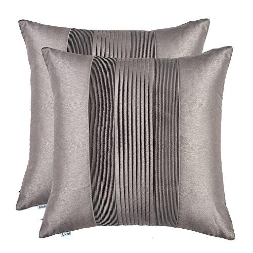 Silk Decorative Toss Pillow - 4