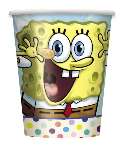 9oz SpongeBob SquarePants Party Cups, 8ct -