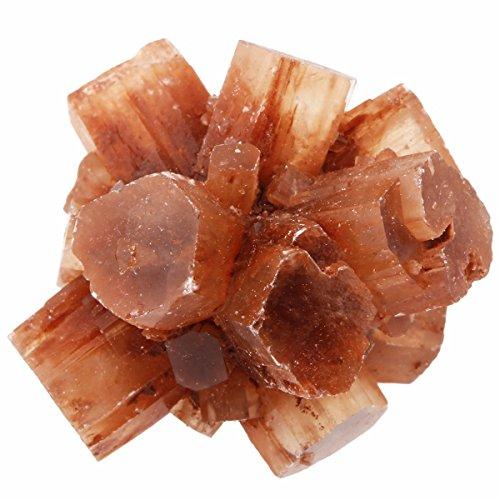 - SUNYIK Natural Aragonite Crystal Cluster Rough Mineral Specimen Figurine Sculpture Pack of 2(0.03-0.04lb)