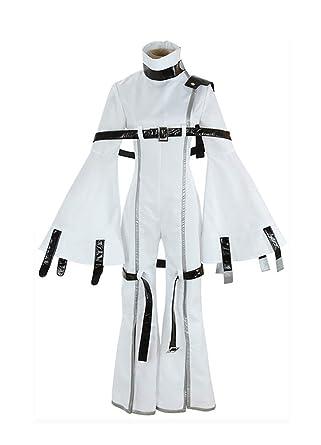 7db22d0cb85 Amazon.com  Yunbei Code Geass C.C Cosplay Costume Halloween White ...