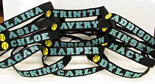 Custom Personalized - Adjustable Non Slip Sports Headbands - Softball - Buy  Online in KSA. Misc. products in Saudi Arabia. See Prices afd1182f8be