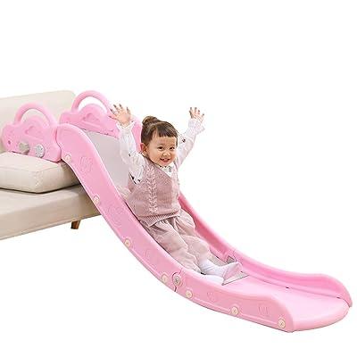 HAPPYMATY Sofa Slide for Toddler Plastic Lengthen Board Children First Slide Kids Indoor Playset for Over 18-Month-Old Baby Boys Girls: Toys & Games