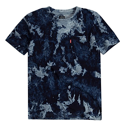 Levi's Toddler Boys' One Pocket T-Shirt, Allure Tie Dye, 2T (Toddler Tee School)