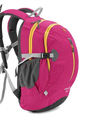 Naturehike 30L mochila impermeable mochila ultraligero ciclismo escalada de camping senderismo hombres bolso de las mujeres mochilas (Green) Rose Red