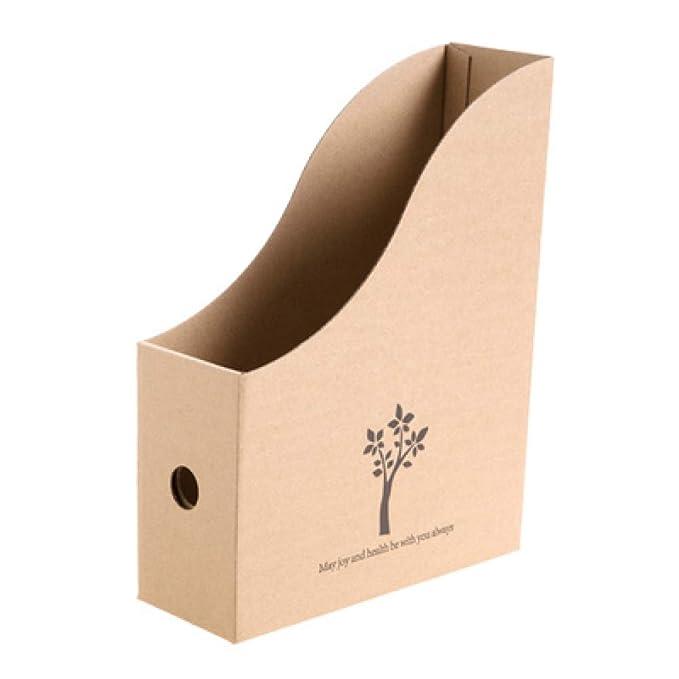 Grea Carpeta de Archivos Book Caja de Almacenamiento de Escritorio ...
