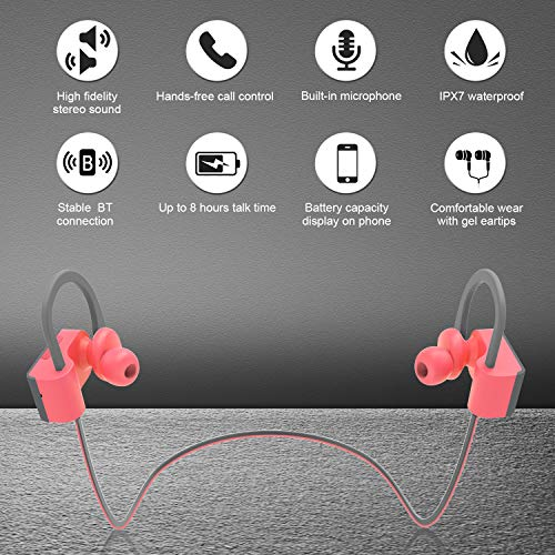 LETSCOM-Bluetooth-Headphones-IPX7-Waterproof-Wireless-Sport-Earphones-Bluetooth-41-HiFi-Bass-Stereo-Sweatproof-Earbuds-wMic-Noise-Cancelling-Headset-Workout-Running-Gym-8-Hours-Play-Time