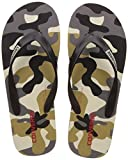 Converse Men's Black/White Flip-Flops and House Slippers - 9 UK/India (42.5 EU)