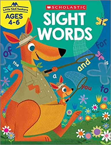 Little Skill Seekers  book for sight words