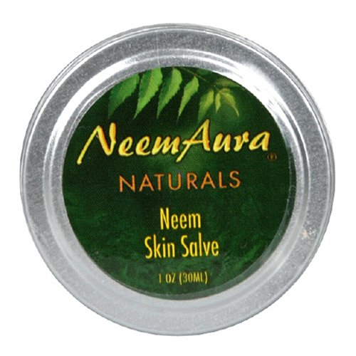 Neemaura Naturals Neem Skin Salve, 1 oz (30 ml) (Pack of 4)