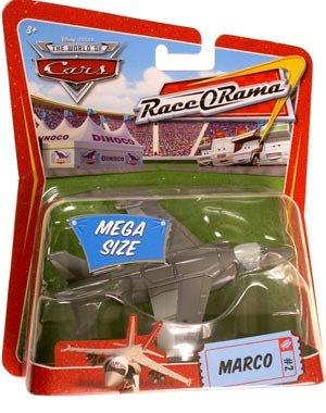ディズニー カーズ・MEGA SIZE・マルコ MARCO ジェット戦闘機の商品画像