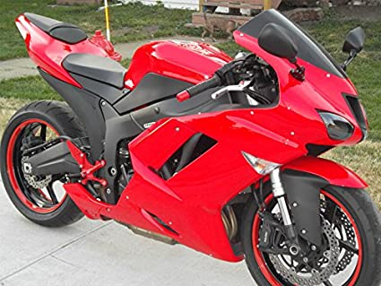 Amazon.com: 2003 2004 Fit for Kawasaki ZX6R 636 Injection ...