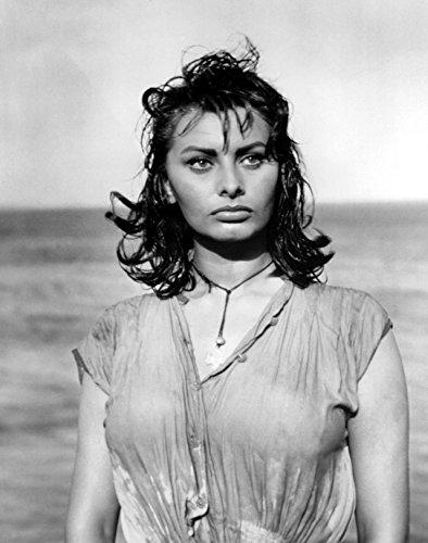 Sophia Loren Wet Shirt Poster Photo Pinup Art Girl Model Posters Artwork