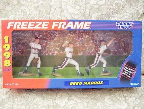 1998 MLB Starting Lineup Freeze Frame - Greg Maddux - Atlanta Braves   B000WKOLQ2