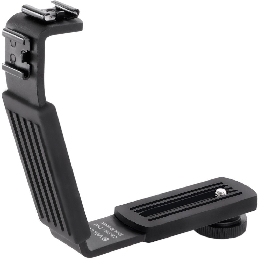 Vello CB-510 Dual Shoe Bracket with Silicon Rubber Grip by VELLO