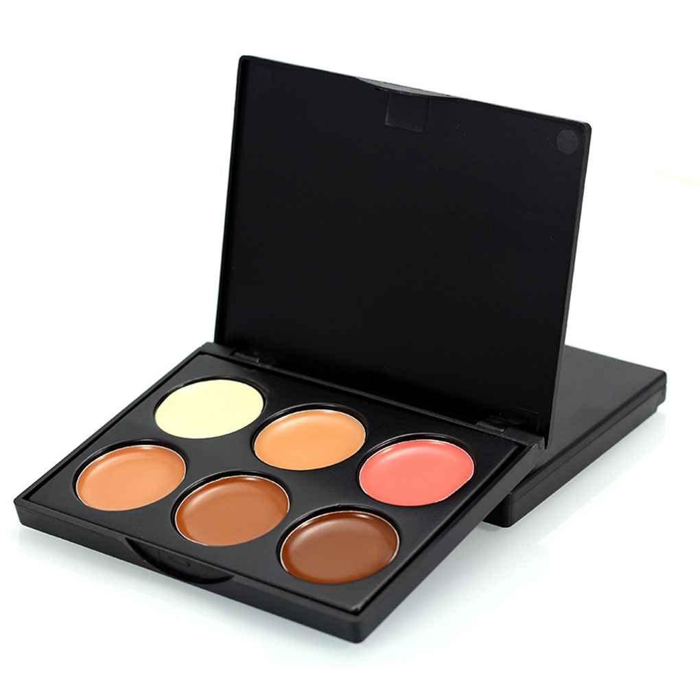 Babysbreath Palette Concealer per la crema viso crema viso 6 colori per trucco cosmetico FM01