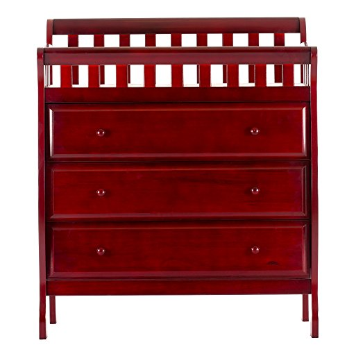 Dream On Me Marcus Changing Table and Dresser, Cherry, Small by Dream On Me