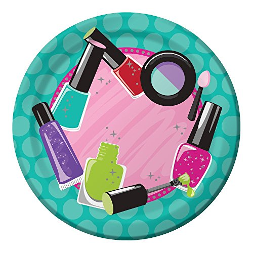Makeup Spa Birthday Party Supply Pack Bundle For 8 Guests by Creative Converting (Image #2)