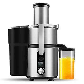 Lndixy Exprimidor máquina de Jugo de Fruta Entera Fabricante con 83mm alimentador 5 Velocidad Ajuste centrifugador de Potencia centrífuga Potente exprimidor ...