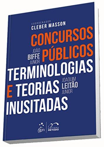 Concursos Públicos. Terminologias e Teorias Inusitadas