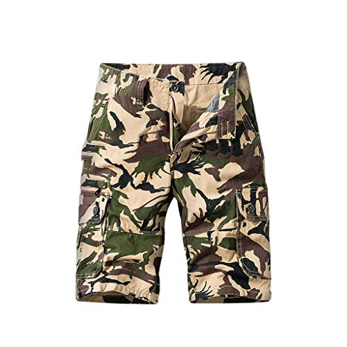 Mens's Cargo Shorts, Men's Plus Size Trousers Casual Short Pants Hot Sale Work Boardshorts