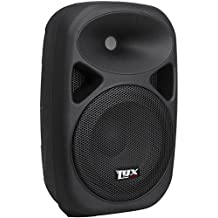 """LyxPro SPA-8 Compact 8"""" Portable PA System 100-Watt RMS Power Active Speaker Equalizer Bluetooth SD Slot USB MP3 XLR 1/4"""" 1/8"""" 3.5mm Inputs"""