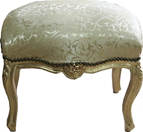 Casa-Padrino barroco del modelo del oro escabel/Oro Medio