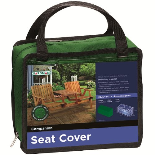 GARDMAN HDUTY SEAT/FURNITURE COVER COMPANION GARDEN NEW