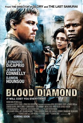 Blood Diamond Poster Movie 2006 Style I