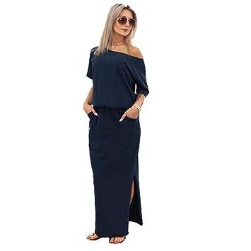 Lmmvp - vestido de verano, largo, boho, de noche, de fiesta,